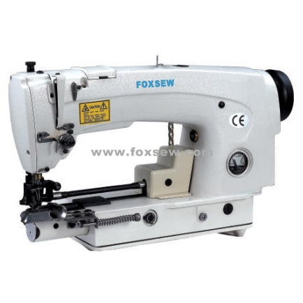 Lockstitch Hemming On Trouser Bottoms And Sleeves Machine