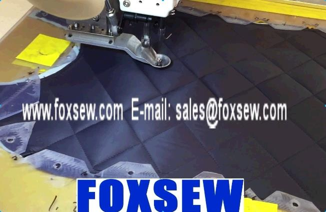 Automatic Pattern Sewing Machine for Cotton-padded Jacket